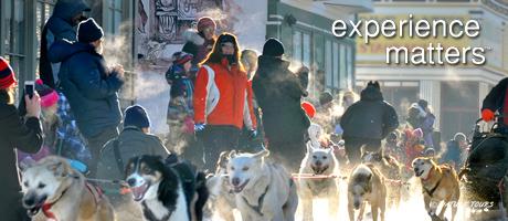 Yukon Quest tour Whitehorse nach Dawson mitNature Tours of Yukon
