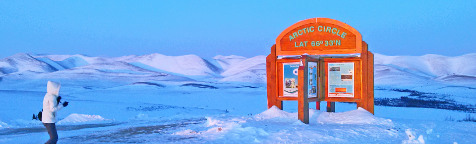 Arctic Circle in Yukon
