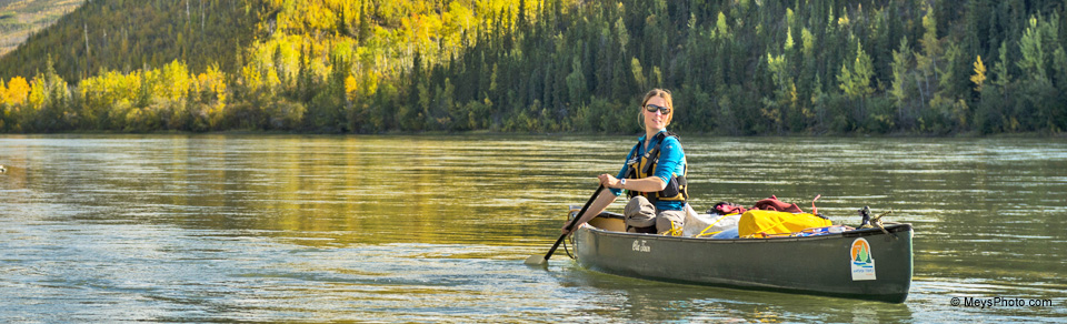 canoe adventures in Yukon, Canada