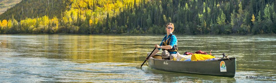 Kanu-abenteuer am Yukon River, Kanada