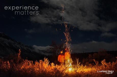 voir les Aurores Boréales enchantées en Yukon