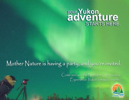 Aurore Boreale Yukon Canada