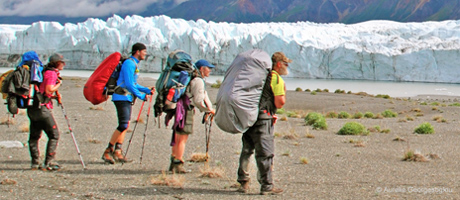 Donjek Glacier - Backpacking in Yukon's Kluane National Park
