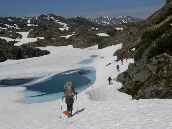 chilkoot trial with Nature Tours of yukon