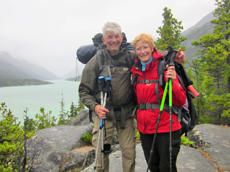 Chilkoot Trail,  Andre en Rita
