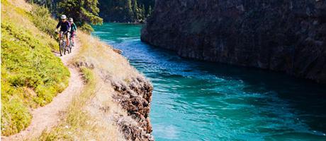 moutain biking: Yukon Summer Solstice