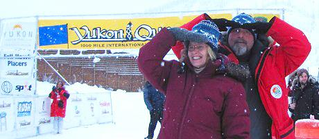 Yukon Quest. 1000 mile dog sledding race