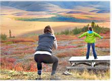 Aventures d'été au Yukon, Canada