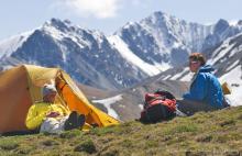 Backpacking in Yukon, Canada