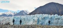 Donjek Glacier close up