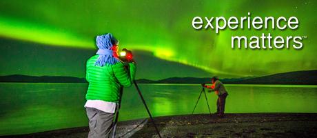 private Aurora hunt Yukon