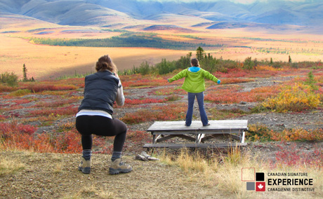 Arctic Circle Tour with Nature Tours of Yukon - Amazing autumn colours