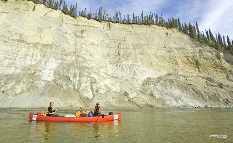 Liard River Fly-in canoeing. Nature Tours of Yukon