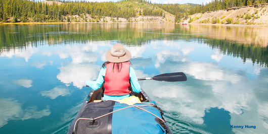 Nature tours of Yukon | custom private canoe trip