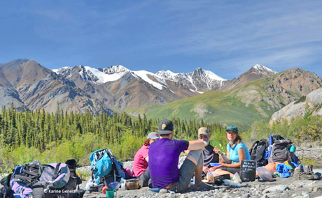 Backpacking in Yukon's Kluane National Park with Nature Tours of Yukon