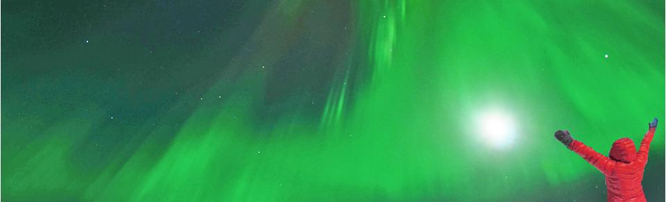 aurore boréale du Yukon