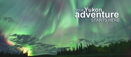 Nordlichter in Kanada's Yukon