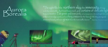 observer l'Aurore Boréale au Yukon Canada