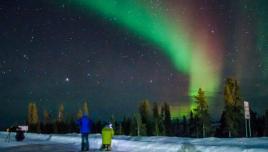 Aurora Borealis near the Arctic Circle | Yukon, Canada.
