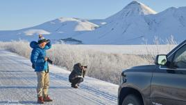 Photo opp. at the Dempster Highway