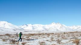 Photography stop on the Dempster