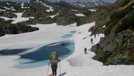 guided backpacking trip over the Chilkoot Trail in Alaska.