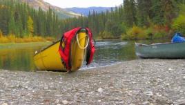 Big Salmon River: canoeing in Yukon:
