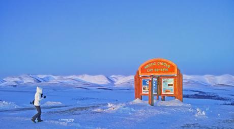 Arctic Circle   guided winter road trip   Aurora ...