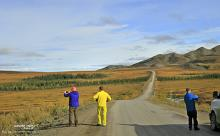Dempster Highway photo stop
