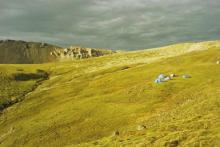 Donjek Glacier Yukon, hiking in Kluane