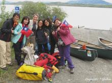 Yukon River trip with team Taiwan!