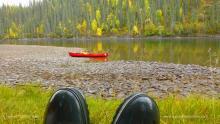Teslin River Yukon