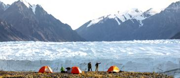 Donjek Clacier Epic backpacking Nature Tours of Yukon