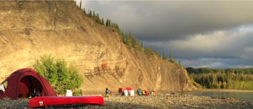 Liard River an epic fly-in canoe expedition - Nature Tours of Yukon